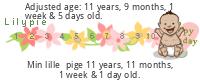 Lilypie tidligt født baby tickers